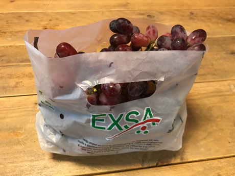 Exsa Europe introduces eco-friendly grape packaging