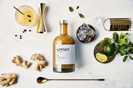 GIMBER: bio-gemberdrank zonder alcohol