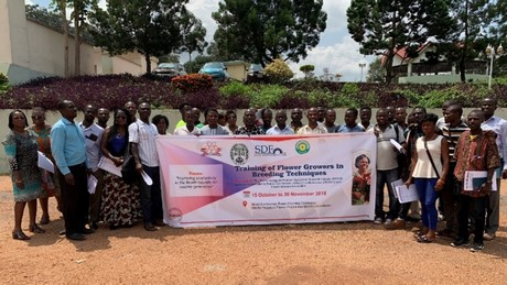 How IAEA support is benefitting Ghana's floriculture industry