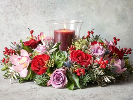 UK: Sales of Christmas trees, Christmas flowers and orchids up