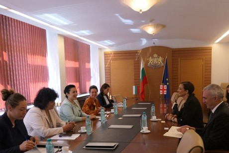 Georgia looks for Bulgaria's experience in the production of