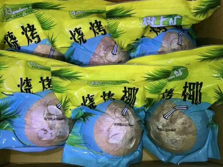 Thailand is a big supplier of coconuts to China