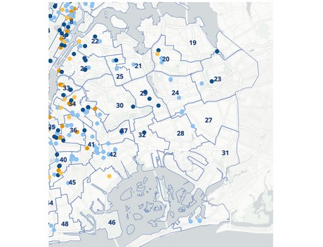 New city map shows farm-fresh produce in Queens, New York