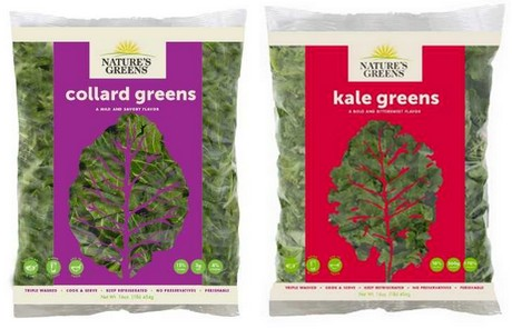New look packaging for leafy greens grower