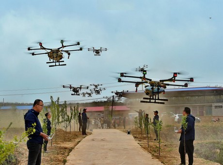 China: Migrant worker exodus creates demand for drone pilots