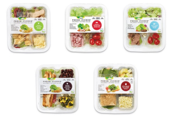 New gourmet entree salads from Bonduelle