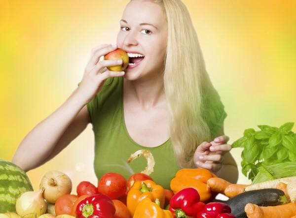 Europe: Women on average eat more fruit and vegetables than men