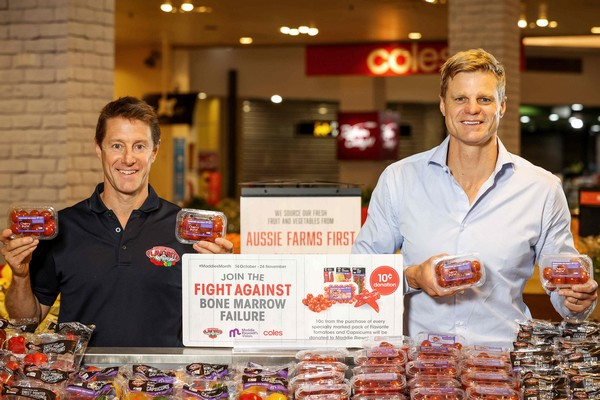 Fundraising Campaign Kicks Off At Coles To Support Maddie Riewoldt S Vision