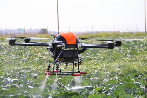 irrigation drone