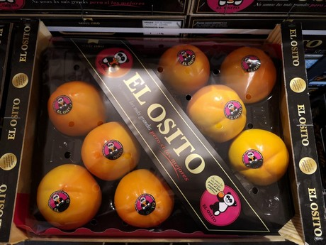 how to eat a spanish persimmon fruit