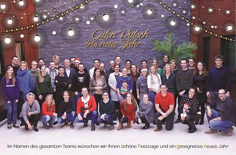 Wir Wünschen Euch Frohe Weihnachten Und Einen Guten Rutsch.Frohe Weihnachten Und Einen Guten Rutsch Ins Neue Jahr