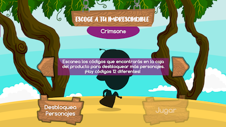 Uvasdoce videogame on mobile devices