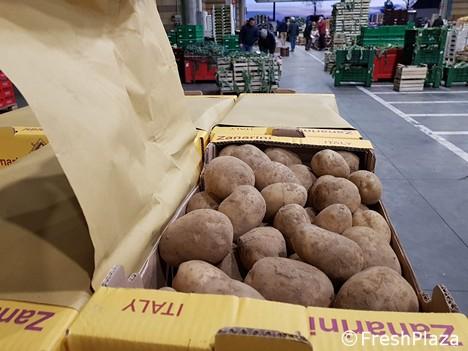 Импорт итальянского картофеля