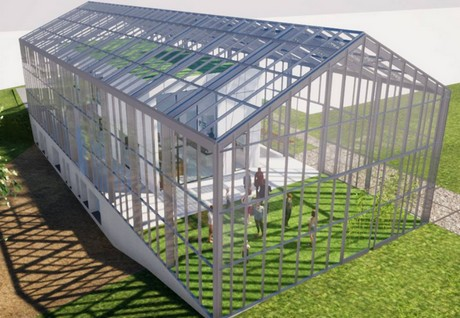 Belgium inaugurates first greenhouse home
