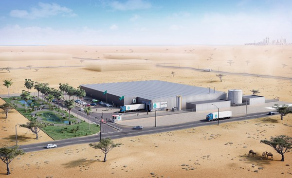 5 000 Square Metre Indoor Farm Under Construction In Abu Dhabi