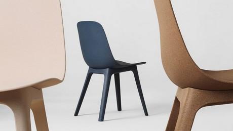 Betaalbare Design Stoelen.Gerecycled Hout En Plastic Creeren Duurzame Zweedse Stoel