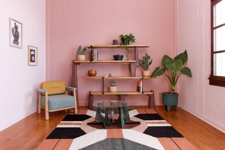 Wandplanken Van Beton : Aardbevingsbestendige boekenkast van metaal hout en beton