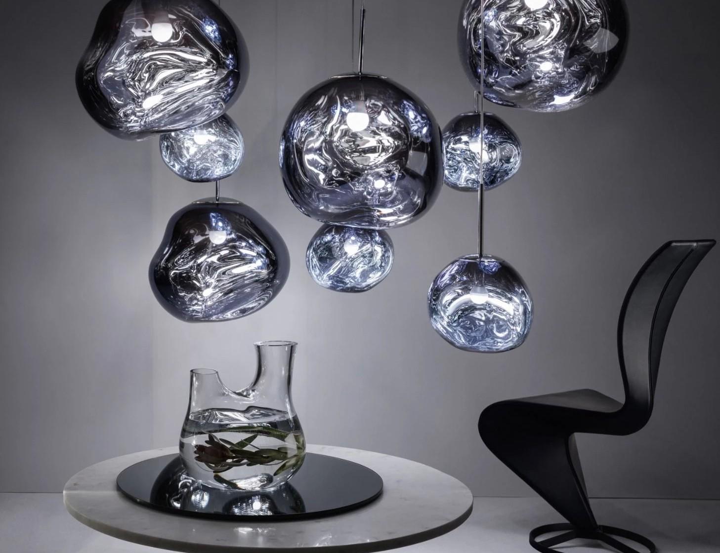 Nieuw Lamp lijkt gesmolten glas YV-46