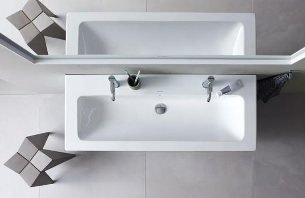 Moderne Badkamer Krijgt Handtekening Van Franse Designer
